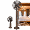 DecoBreeze Deco Floor Standing Fan - Fir Bark