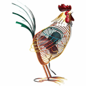 DecoBreeze Figurine Fan - Rooster Country