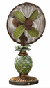 DecoBreeze Mosaic Glass- Pineapple Fan/Lamp