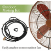 DecoBreeze Outdoor Fan Mist Kit