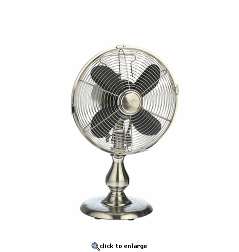 DecoBreeze Table Fan - Stainless