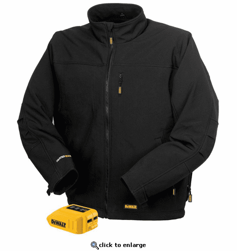 DeWalt 20V/12V MAX Lithium Ion Soft Shell Heated Jacket (Jacket and Adaptor Only)