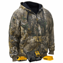 DeWalt 20V MAX XR Lithium Ion Realtree Xtra Camouflage Heated Hoodie with Battery Kit