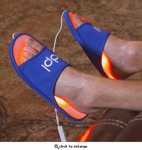 dpl Foot Pain Relief Infrared Light Therapy Slippers
