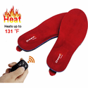 Dr.Warm Unisex Rechargeable Heated Insole with Remote Control Foot Warmers
