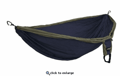 Eagles Nest Outfitters Double Deluxe Hammock - Navy/Olive
