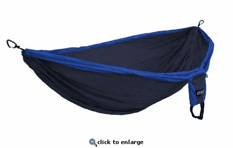 Eagles Nest Outfitters Double Deluxe Hammock - Navy/Royal