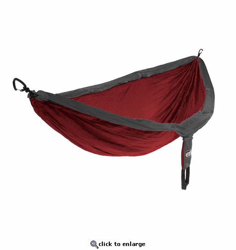Eagles Nest Outfitters DoubleNest Hammock - Charcoal/Maroon
