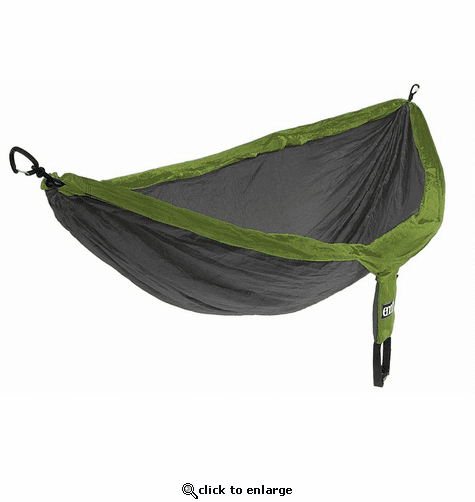 Eagles Nest Outfitters DoubleNest Hammock - Lime/Charcoal