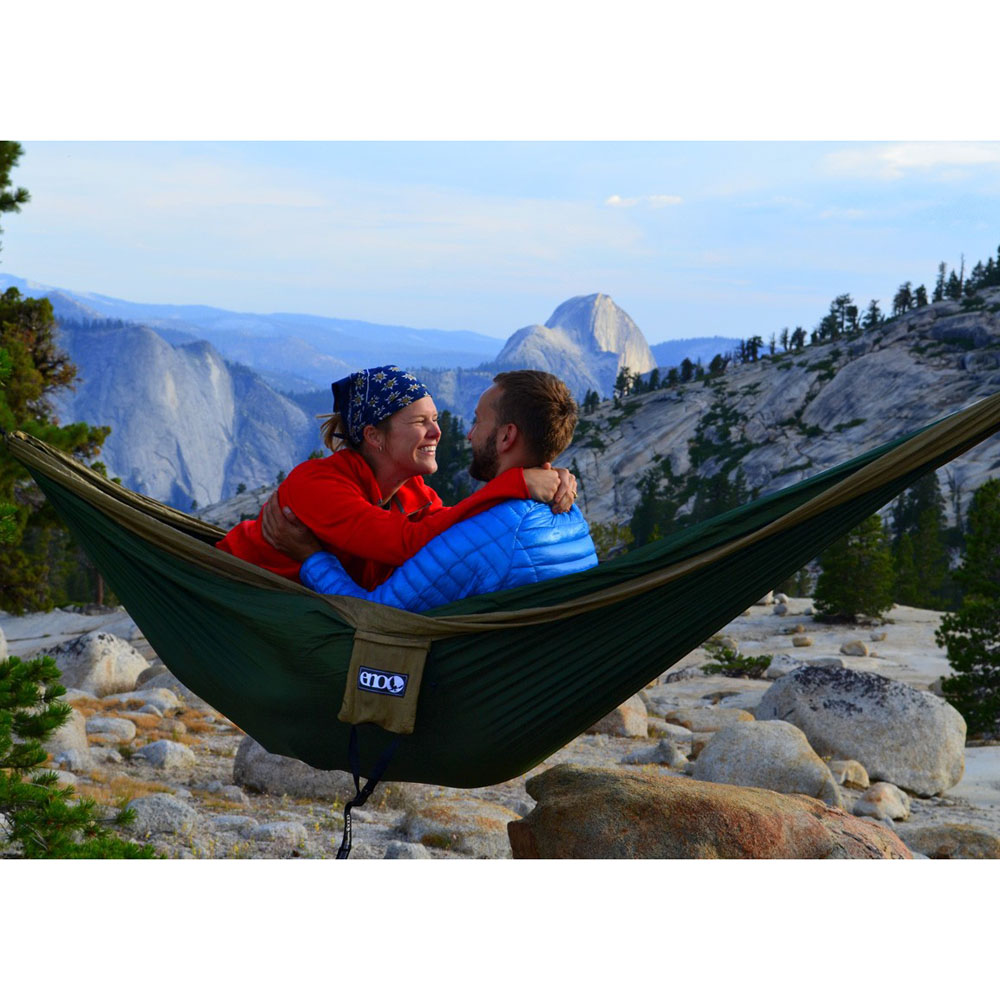 Eagles Nest Outfitters ENO DoubleNest Hammock Navy//Olive