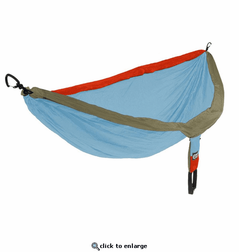 Eagles Nest Outfitters DoubleNest Hammock - Powder/Orange/Tan