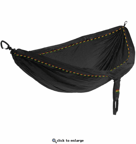 Eagles Nest Outfitters DoubleNest Hammock - Rasta Limited Edition