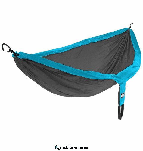 Eagles Nest Outfitters DoubleNest Hammock - Teal/Charcoal