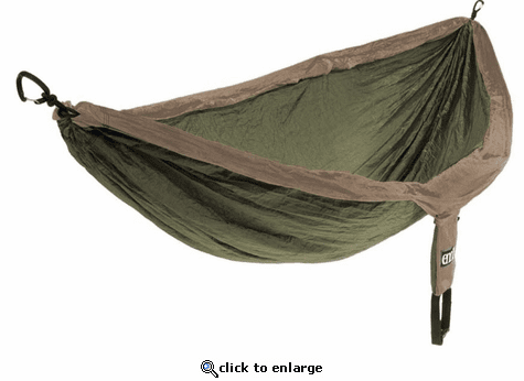 Eagles Nest Outfitters DoubleNest Hammock with Insect Shield Treatment - Khaki/Olive