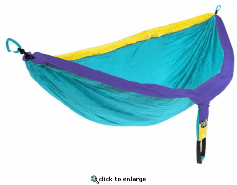 Eagles Nest Outfitters DoubleNest Hammock - Yellow/Teal/Purple