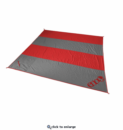 Eagles Nest Outfitters Islander Blanket - Red/Charcoal
