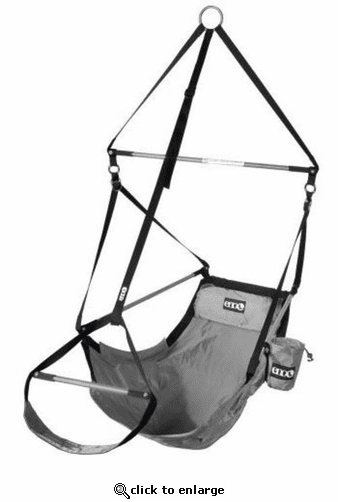 Eagles Nest Outfitters Lounger Hanging Chair- Grey