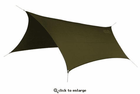 Eagles Nest Outfitters Pro Fly Rain Tarp - Olive