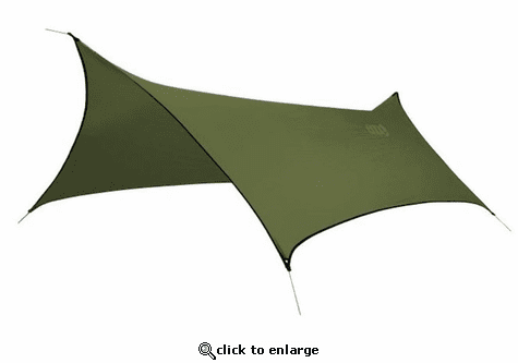 Eagles Nest Outfitters ProFly XL Sil Light Weight Hammock Rain Tarp - Lichen Green