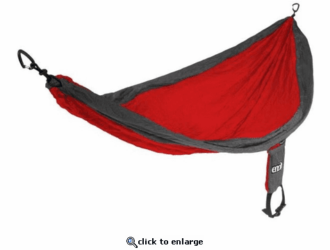 Eagles Nest Outfitters SingleNest Hammock - Red/Charcoal