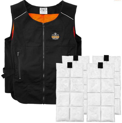 Chill-Its 6260 Lightweight Phase Change Cooling Vest with Packs