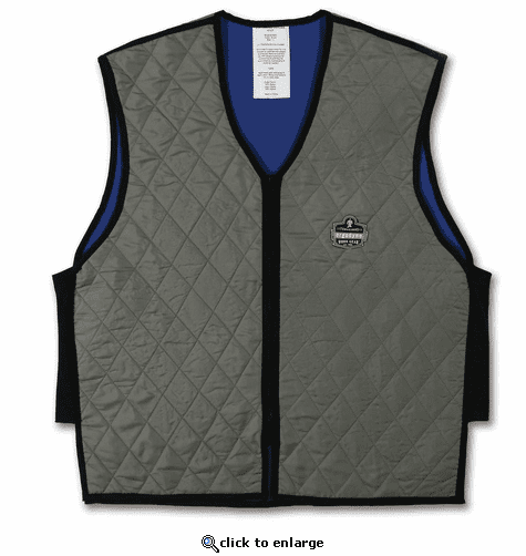 Ergodyne Chill-Its Evaporative Cooling Vest - Gray