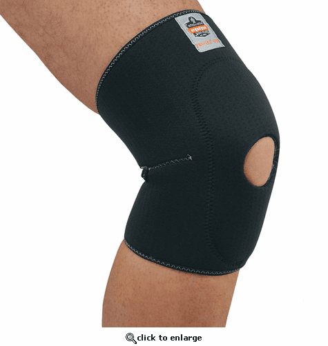 Ergodyne ProFlex 615 Knee Sleeve with Open Patella/Anterior Pad