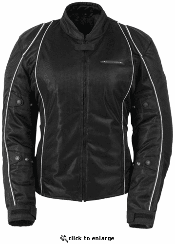 Fieldsheer Women's Breeze 3.0 Textile Street Motorcycle Jacket