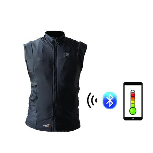 Fired Up X Infrared Heated Vest Liners with Smartphone Temperature Control Application