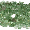 Fireglass+ Jade Reflective Fire Glass 10lbs bag
