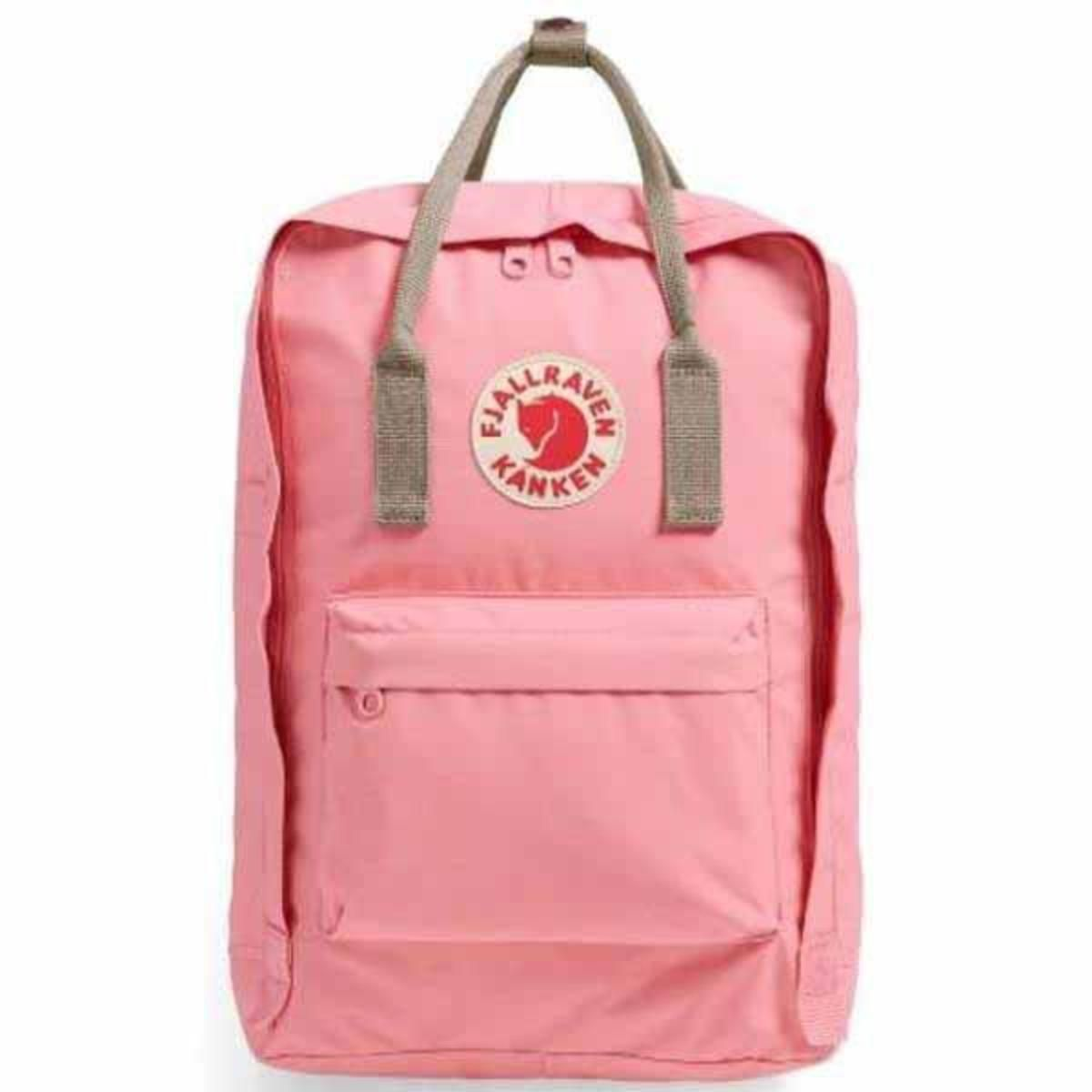 3178e705c128e FjallRaven Kanken Backpack - Pink Fog - The Warming Store
