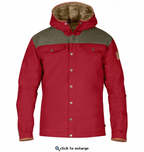 FjallRaven Men's Greenland No. 1 Down Jacket - Deep Red