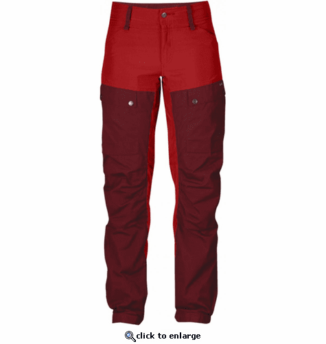 FjallRaven Women's Keb Trousers Regular - Ox Red