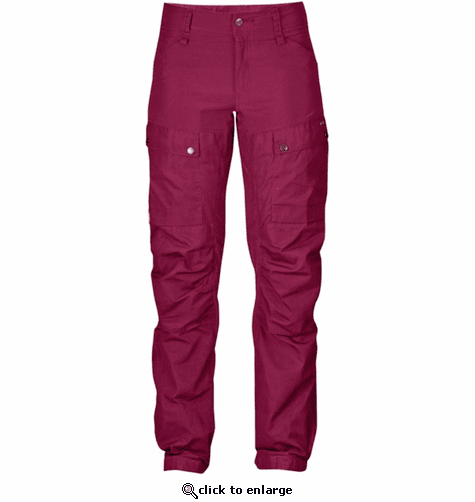 FjallRaven Women's Keb Trousers Regular - Plum