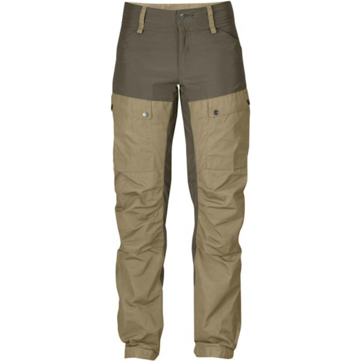 a873aa3730579 FjallRaven Women's Keb Trousers Regular - Sand - The Warming Store