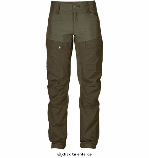 FjallRaven Women's Keb Trousers Short - Tarmac