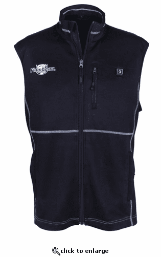 Flambeau Battery Heated Men's Vest - Black