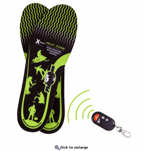 Flambeau Hot Feet Heated Insoles Kit w/Remote Control Switch