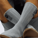 FNDN 3.7V Heated Slipper Socks