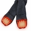 FNDN Heated 3.7V Sports Socks - Black