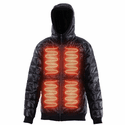 FNDN Reversible Heated Puffy Sweatshirt