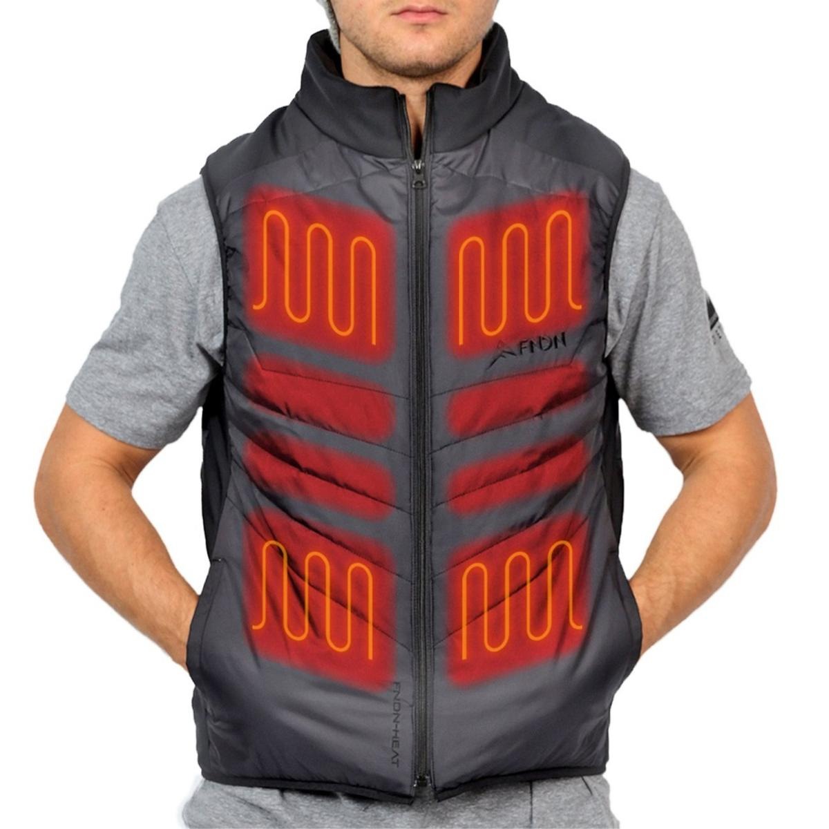 0ce2058e39b FNDN Unisex PRO Heated USB 5V Vest - The Warming Store