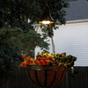 Gama Sonic Hanging Solar Spotlight with Planter Basket - Set of 2