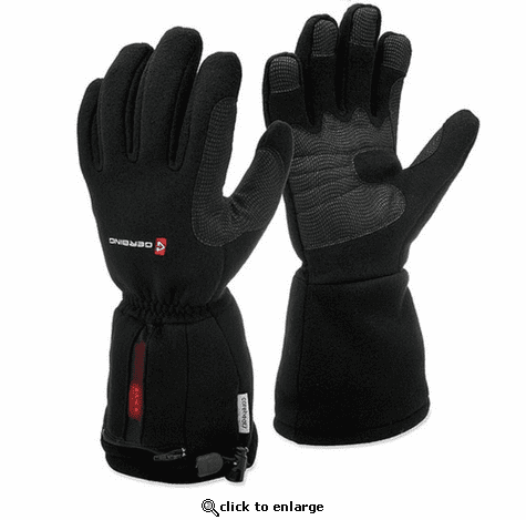Gerbing 7V Battery Heated Fleece Gloves