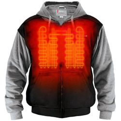 Gerbing 7V Battery Heated Hoodie Sweatshirt