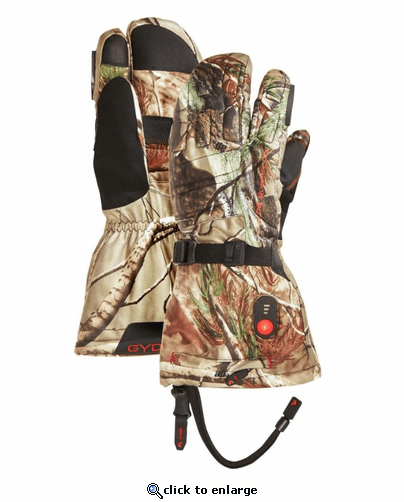 Gerbing Gyde 3-Finger Camouflage Heated Gloves - 7V Battery
