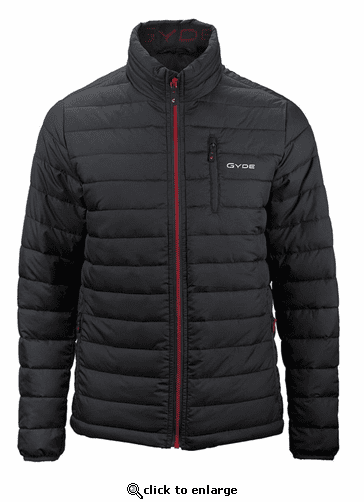 Gerbing Gyde Calor Heated Puffer Jacket, Black - 7V Battery