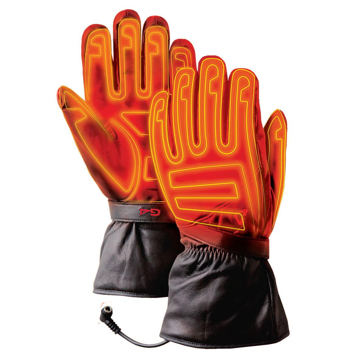 7V Rechargeable Battery Powered Electric Heat Gloves Gerbing Gyde S7 Women/'s Heated Gloves Motorcycle Riding Skiing Hands Warmer for Cold Weather Hunting Outdoor Camping Black