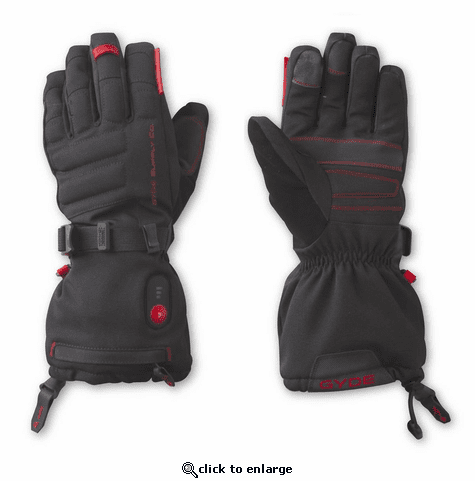 Gerbing Gyde S4 Heated Gloves, Black - 7V Battery