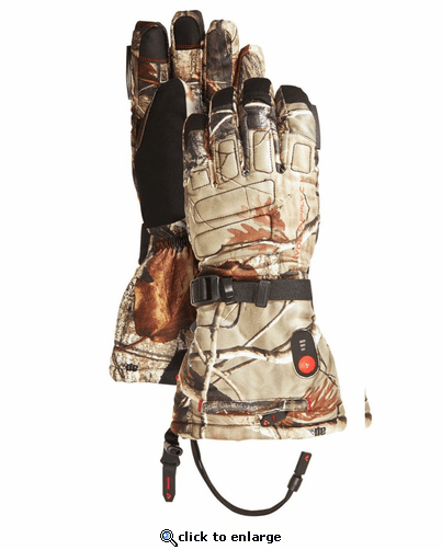 Gerbing Gyde S4 Camouflage Heated Gloves - 7V Battery